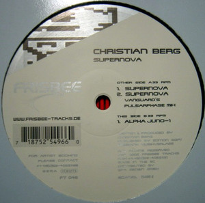 Christian Berg ‎- Supernova