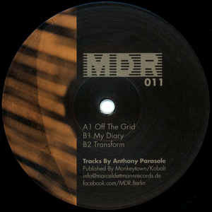 Anthony Parasole ‎- Off The Grid